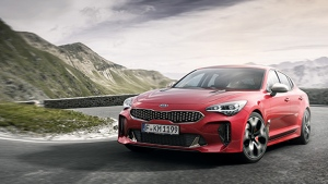 The Kia Stinger by Kia is one of three South Korean contenders for the North American Car of the Year Award. (AFP / Kia)