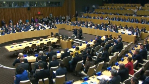 World leaders speak at the UN