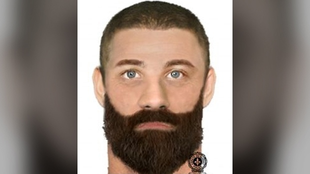 """The witness was reportedly seen in the Rouyn-Noranda area with the suspect in the abduction. He's described as white, about 5'6"""" and weighs about 220 pounds with brown hair and blue eyes and a thick brown beard."""