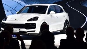 SUVs reign supreme at this year's IAA. (Tobias SCHWARZ / AFP)