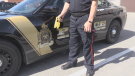 Timmins police said a taser was used in the arrest of man who allegedly stole a cruiser.