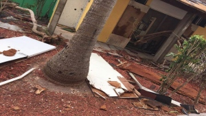 The Club Med resort on Turks and Caicos was hit hard by Hurricane Irma.