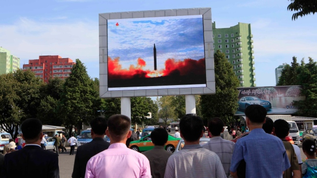 Military considering plan to shoot down North Korean missiles