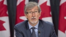 Privacy commissioner Daniel Therrien is seen during a press conference in Ottawa, Tuesday, September 27, 2016. (Adrian Wyld/The Canadian Press)