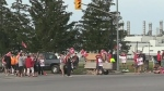 CTV London: On strike