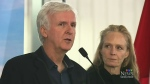 Director James Cameron pushes organic in Sask.