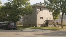EPS taped off a home on the corner of 112 Ave. and 94 St. on Monday, September 18, 2017 - the Homicide Unit was called in to investigate the suspicious death of an unidentified male.