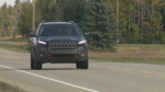 Mathieu Gagne was given a ticket for driving 101 km/h in a 100 km/h zone on Friday.
