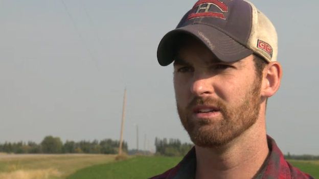 Mathieu Gagne said he was pulled over after he passed a peace officer who was driving under the speed limit.