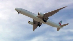 flights, noise, Pearson Airport