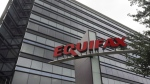 Equifax said names, addresses, social insurance numbers and in limited cases, credit card numbers may have been compromised. (File image)