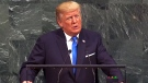 CTV News Channel: Trump speaks at the UN