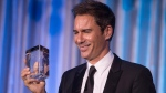 Actor Eric McCormack receives the Stratford Festival Legacy Award during a reception in Toronto on Monday, September 18, 2017. (THE CANADIAN PRESS / Chris Young)