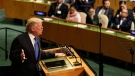 United States President Donald Trump speaks during the United Nations General Assembly at U.N. headquarters, Tuesday, Sept. 19, 2017. (AP Photo/Seth Wenig)