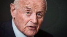 Barrick Gold chairman Peter Munk is shown in Toronto, December 4, 2013. Munk has admitted he donated more than the legal limit to the Conservative party three different times. Munk, the founder of mining giant Barrick Gold Corp., signed a compliance agreement with Elections Canada earlier this month, acknowledging that in 2008, 2010 and 2012 his donations exceeded the maximum allowable contributions.THE CANADIAN PRESS/Mark Blinch