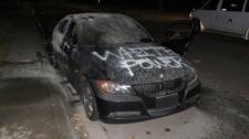 Graffiti vehicle
