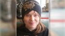 "28-year-old Julia Whitney is described as white, 5'4"" and 120 lbs. with blonde hair cut in a mullet with the sides dyed black. She has a barbell piercing in her lower lip and has her left nostril pierced."