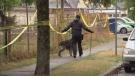 Triple stabbing ends in homicide investigation