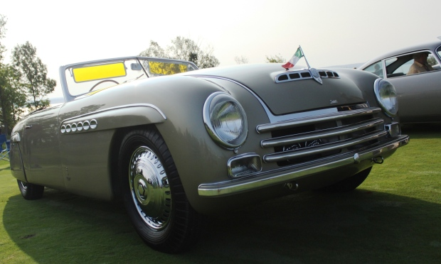 1946 Alfa Romeo by Pininfarina, restored by the Guild of Automotive Restorers