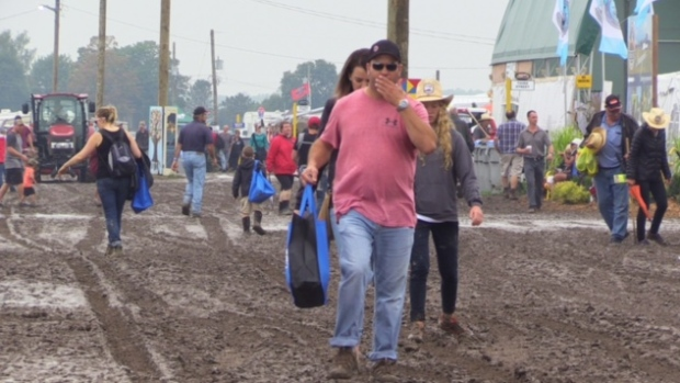 Opening Day of the 2017 International Plowing Match on Sept. 19, 2017. (Scott Miller)