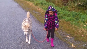 Kaoru was shot to death by a deer hunter near Squamish, B.C., who believed the pet was a wild animal. (Valeria Calderoni)