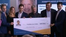 CTV Montreal: Drouin's donation
