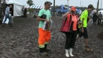 Rain mars first day of International Plowing Match
