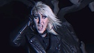 "ZEX lead singer Gretchen Steel performs in the music video for No Sanctuary."" (Source: Magic Bullet Records, YouTube)"