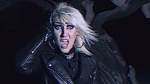"""ZEX lead singer Gretchen Steel performs in the music video for No Sanctuary."""" (Source: Magic Bullet Records, YouTube)"""