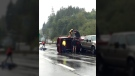 Mounties say no one was seriously injured in separate crashes that occurred on the Duke Point Highway, near the Country Club Centre and near Norwell Drive. Sept. 19, 2017. (Courtesy Nanaimo News Now)