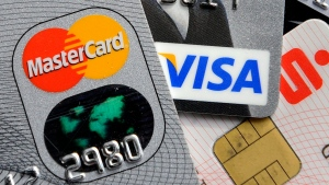This Nov. 18, 2009, file photo, shows credit and bank cards. (AP Photo / Martin Meissner, File)