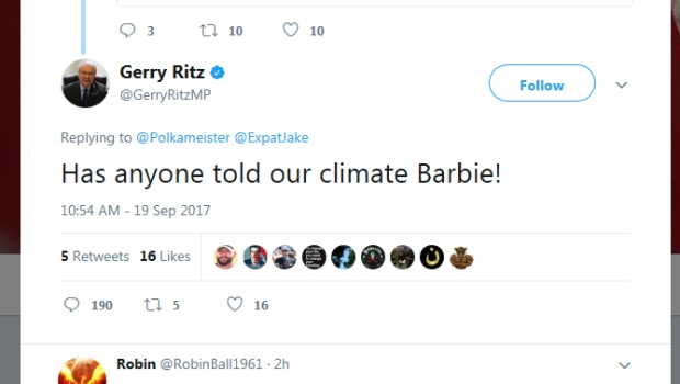 Battlefords Lloydminister MP Gerry Ritz apologizes for 'Barbie' tweet