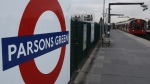 A train pulls in to the platform at Parsons Green tube station in London, on Sept. 18, 2017. (Kirsty Wigglesworth / AP)