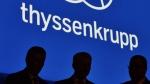 ThyssenKrupp board members at the Annual General Meeting in Bochum, Germany, on Jan. 29, 2016. (Martin Meissner / AP)