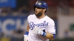 Kansas City Royals' Alex Gordon, on Sept. 9, 2017. (Colin E. Braley / AP)