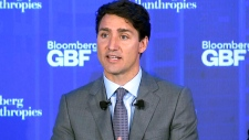 LIVE1: PM Justin Trudeau at forum in New York