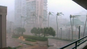 Hurricane Maria hits Puerto Rico as a Category 4 s