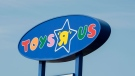 "A Toys ""R"" Us sign is seen Tuesday, September 19, 2017 in Montreal. (Paul Chiasson/THE CANADIAN PRESS)"