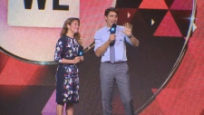 PM Trudeau delivers remarks at WE Day UN
