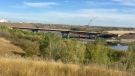 Saskatoon residents are asked to submit names for the North Commuter Parkway Bridge (Laura Woodward/CTV Saskatoon).