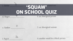 B.C. school quizzed students on the term 'squaw'