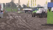 100th International Plowing Match closes for day due to muddy conditions