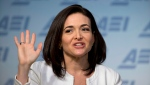 In this Wednesday, June 22, 2016, file photo, Facebook Chief Operating Officer Sheryl Sandberg speaks at the American Enterprise Institute, in Washington. (AP Photo/Alex Brandon, File)