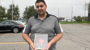 Alex Martin said his mom, Marilyn Monroe, was killed in a crash this weekend.