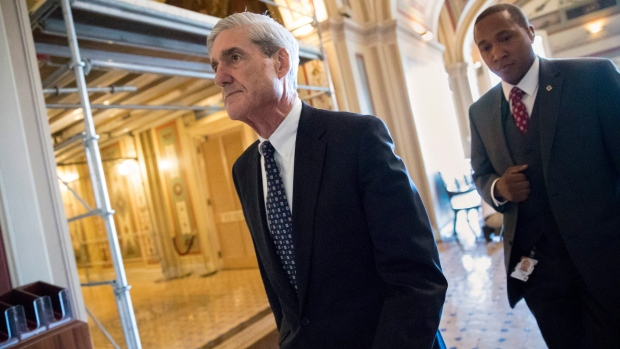 In this June 21, 2017 file photo, special counsel Robert Mueller departs after a closed-door meeting with members of the Senate Judiciary Committee about Russian meddling in the election and possible connection to the Trump campaign, on Capitol Hill in Washington. (AP Photo / J. Scott Applewhite, File)