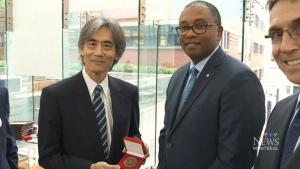 CTV Montreal: Nagano earns Peace Medal