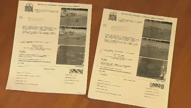 Susan McNab received two speeding tickets, issued ten seconds apart, on 170 Street in Edmonton.