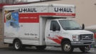 File photo of U-Haul truck. (CTV)