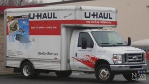 File photo of U-Haul truck. (CTV)