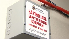 Does B.C. have an earthquake warning system?